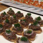 Steak Tartare, Cornichons, Red Onion